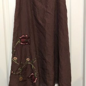 Jjill skirt with floral side zip SP
